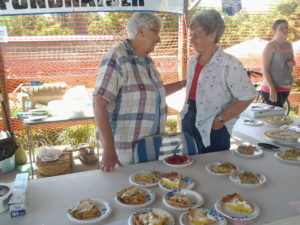 Pie Sale at LeRoy Razzasque Days